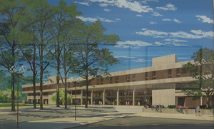 Rendering of the University of Virginia School of Law
