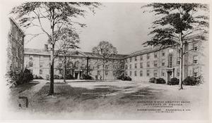 The McCormick Road Dormitories Quadrangle, 1949