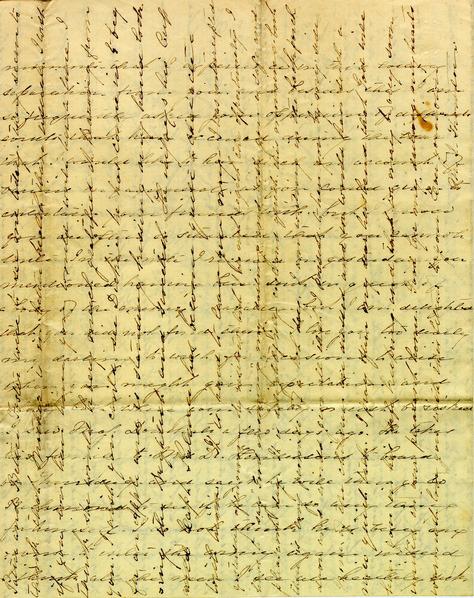 Autograph letter, Mrs. John Thornton