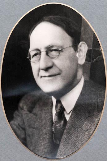 Mortimer Kaufman, portrait