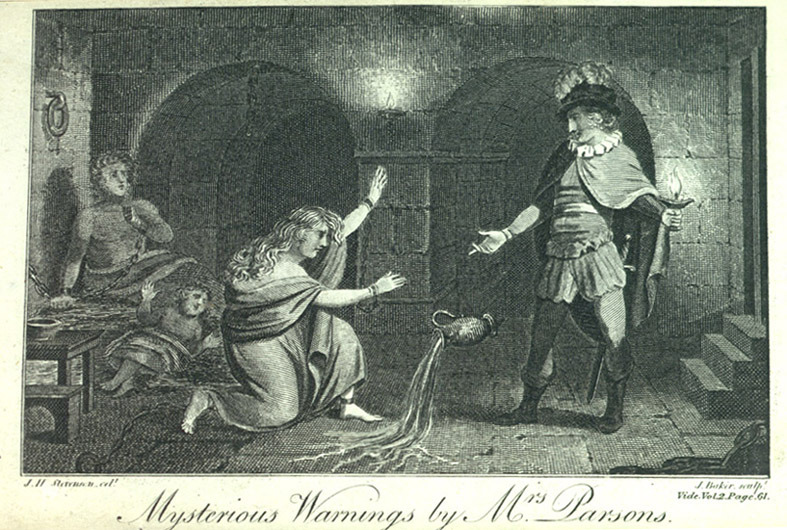 The Mysterious Warning, a German Tale.