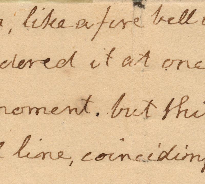 Detail, Thomas Jefferson, Letter to John Holmes, 22 April 1820.