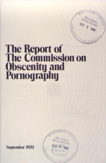 Obscenity Report