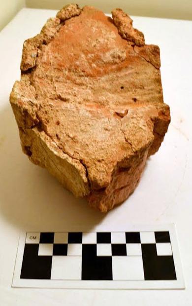 Ovolo brick with plaster