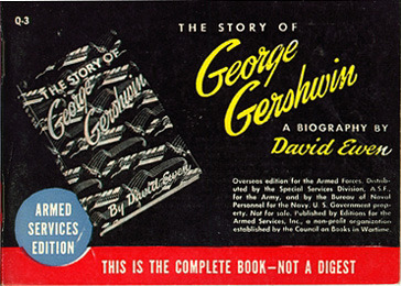 David Ewen. The Story of George Gershwin