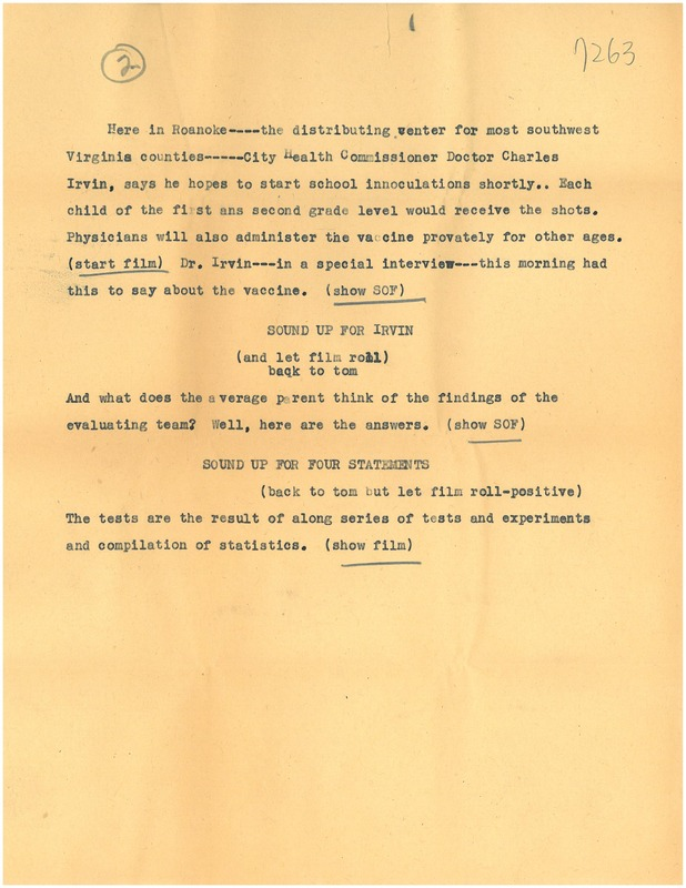 Polio Comments Script