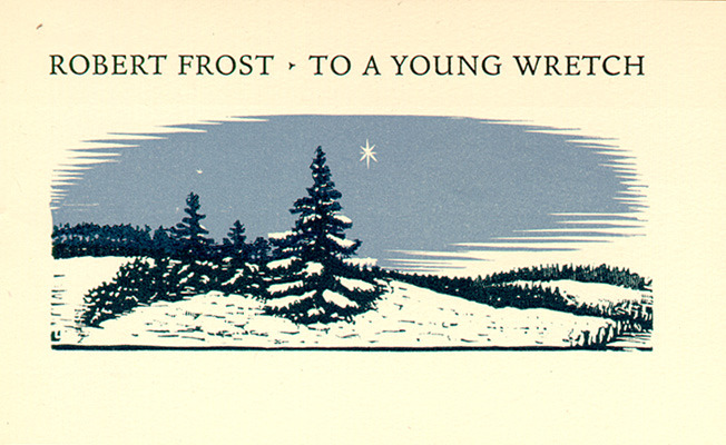 1937 (To a Young Wretch)