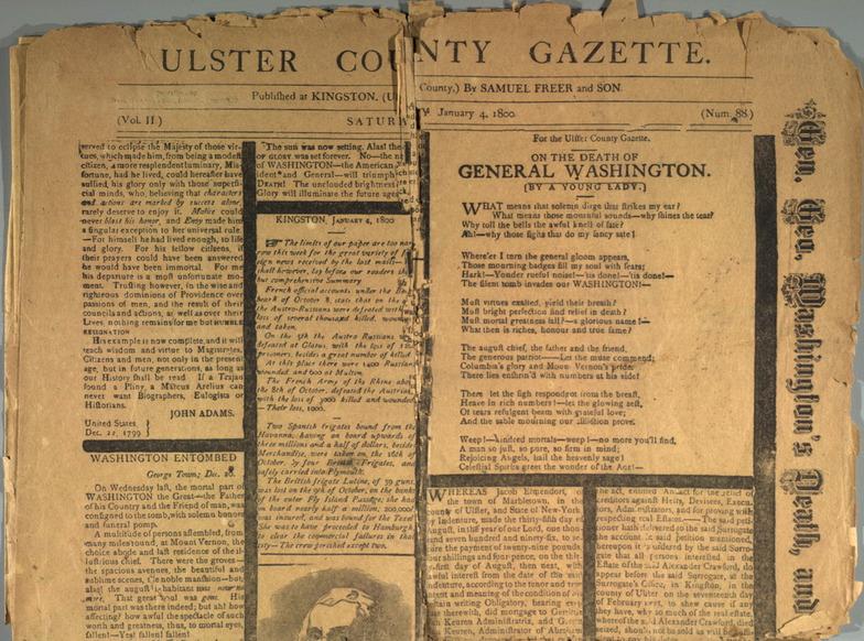 Ulster County Gazette