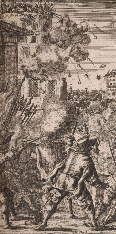 Detail from Alexandre O. Exquemelin, De Americaensche zee-roovers, 1678.