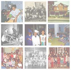 Barrett Daycare Center. Collage