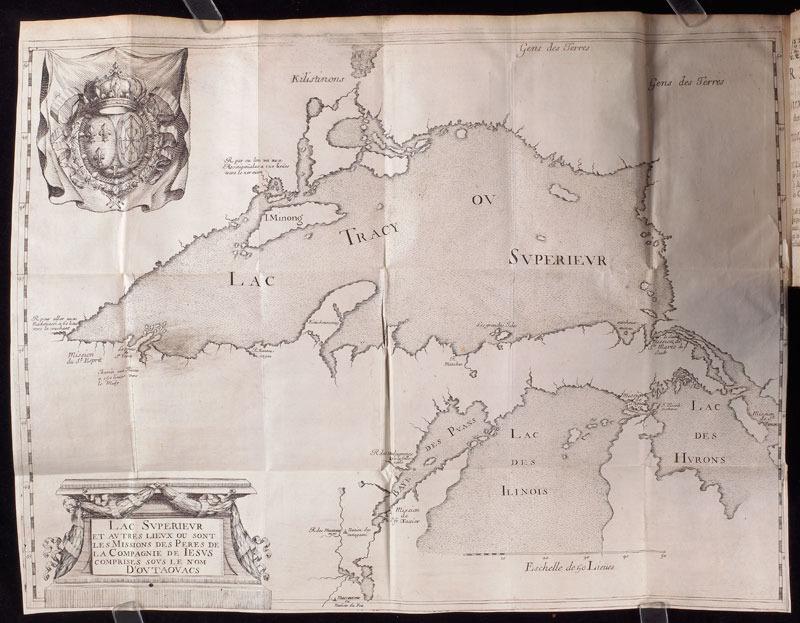Claude Dablon, Relation de ce qui s'est passé ..., 1672.