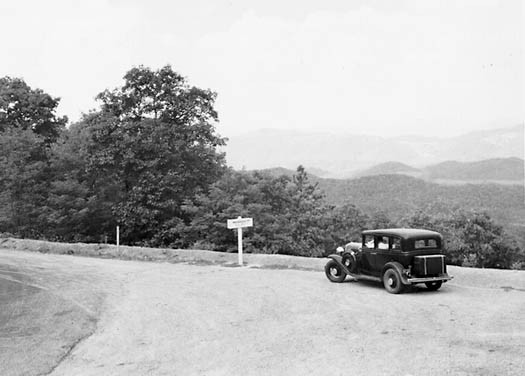 P. I. Flourney. Shenandoah Valley, View from Shenandoah Mountain. Photograph