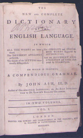 New and Complete Dictionary of the English Language