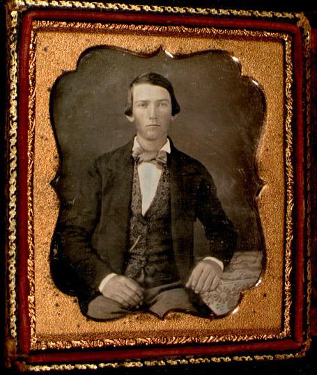 Daguerreotype of John S. Mosby. 1851.
