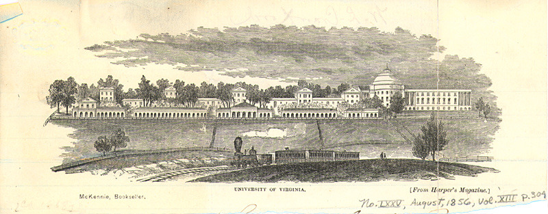 The University of Virginia, 1856.