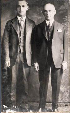Jacob Leterman and Ernest Oberdorfer, portrait