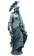 Statue Freedom. Full. Profile