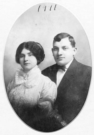 Ellis and Bessie Mopsik, portrait