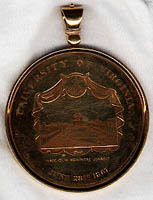 Medal. Jefferson Society. 1867 June 28.