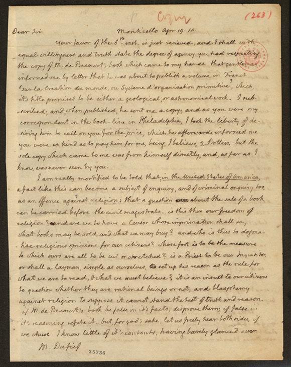 Jefferson Letter page1