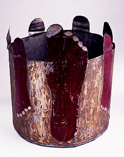 Ceremonial Tin Hot Foot Crown. IMP Society. No date.