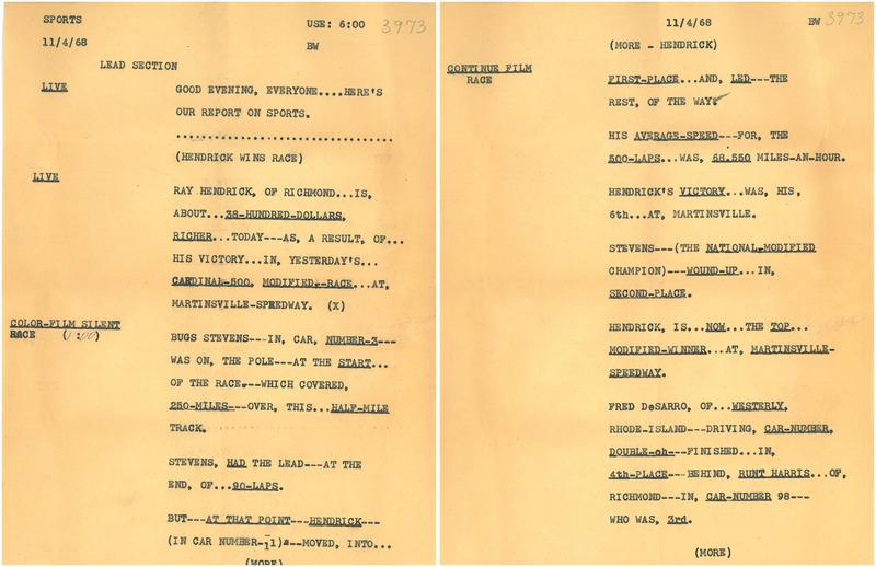 500 1968 Script