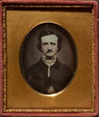 Daguerreotype portrait of Poe