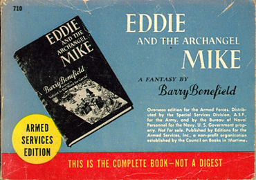 Barry Benefield. Eddie and the Archangel Mike