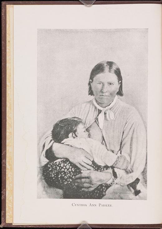James T. De Shields, Cynthia Ann Parker, 1886.
