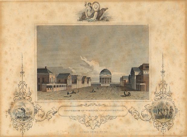University of Virginia, Charlottesville, 1831.