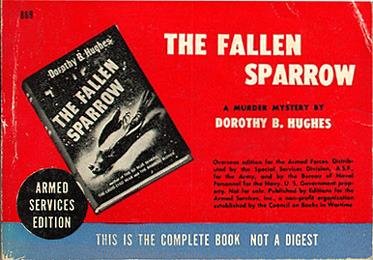 Dorothy B. Hughes. The Fallen Sparrow