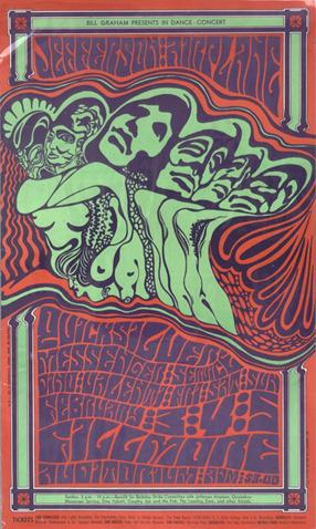 Bill Graham presents in dance-concert... 1967