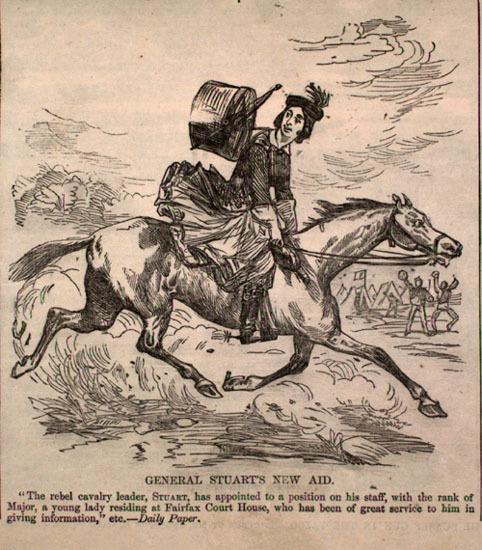 Harper's Weekly cartoon, April 4, 1863