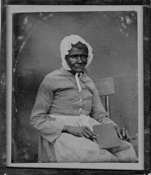 Daguerreotype (ca.1850s) of a slave woman