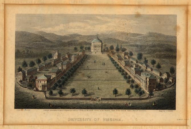 University of Virginia, 1856.