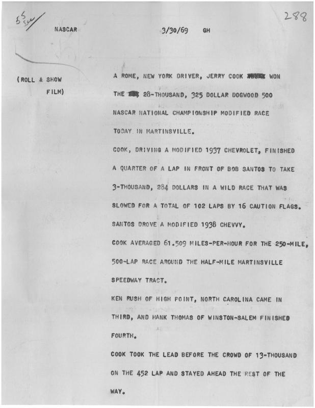 500 1969 Script