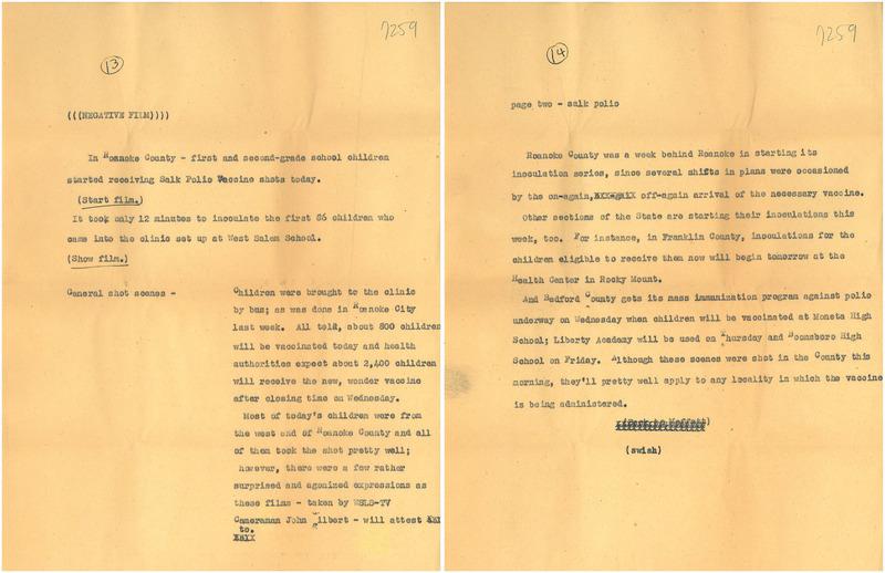 Polio Shots Script