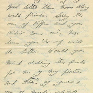 McConnell letters. July 25, 1916, p.1
