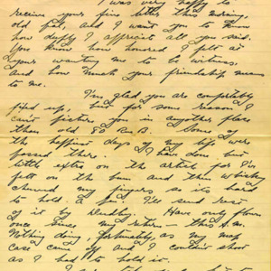 McConnell letters. December 11, 1916,  p.1