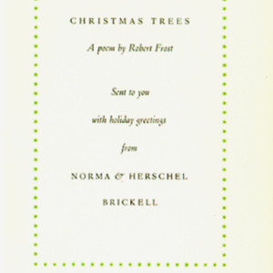 1929 (Christmas Trees)