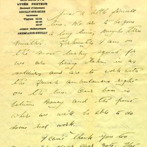 McConnell letters. April, 1915, p.1