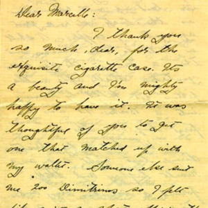 McConnell letters. December 26, 1916, p.1