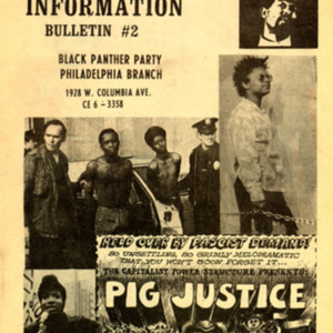 Black Panther Party. Ministry of Information.