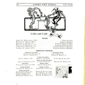 Corks and Curls, 1910, p. 268