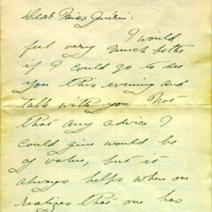 McConnell letters. Feb. 27, 1915, p.1