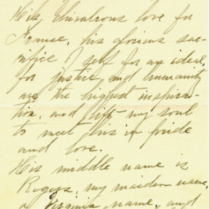 McConnell letters. April 2, 1917. Sarah McConnell to Alderman, p.2