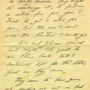 McConnell letters. January 2, 1917, p.2