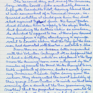 McConnell documents. Marcelle Guérin. Memoir, p.7