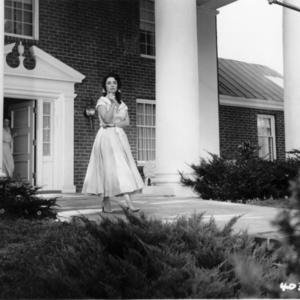 Elizabeth Taylor, taken in Albemarle County