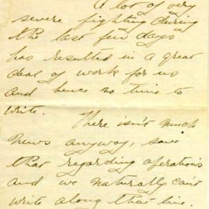 McConnell letters. May 14, 1915, p.1
